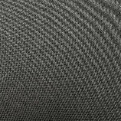 vidaXL Barstolar 2 st mörkgrå tyg