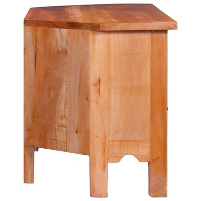 vidaXL TV-bänk 100x40x45 cm massiv mahogny