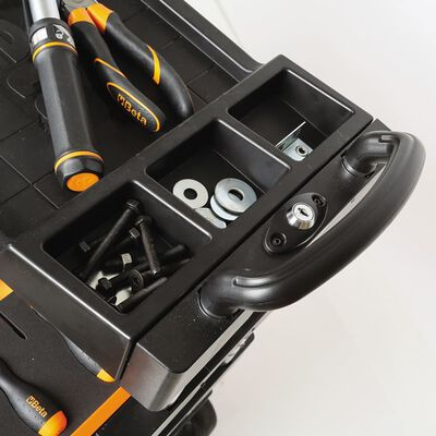 Beta Tools Verktygsvagn C27S-O Orange Stål 027000201