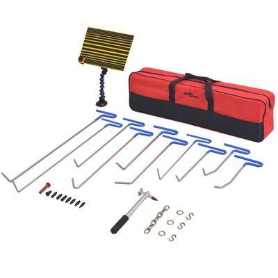 vidaXL 28-delars Repareringskit för bucklor rostfritt stål