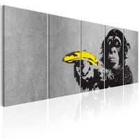Tavla - Monkey And Banana - 225x90 Cm