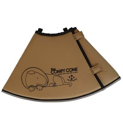 All Four Paws Djurkrage Comfy Cone XS 11 cm brun