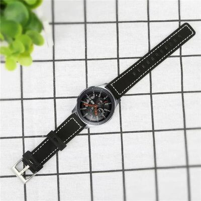Smartwatch armband 20mm Samsung Gear S2/Sport/Galaxy, Garmin - Läder/s