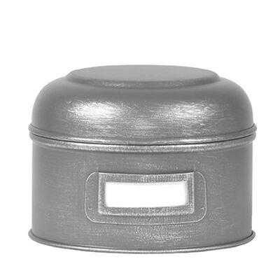 LABEL51 Förvaringslåda 13x13x10 cm S antikgrå