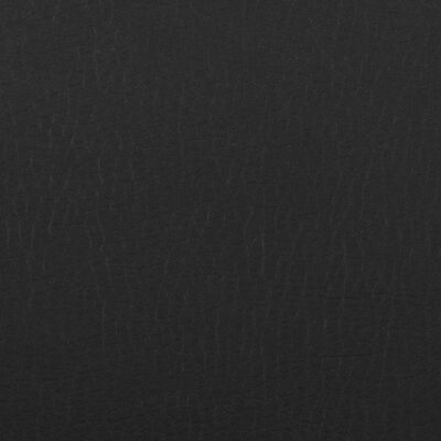 vidaXL Reclinerfåtölj svart konstläder