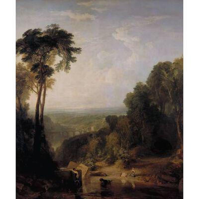 Crossing the brook,Joseph Mallord William Turner,50x40cm