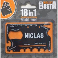 Joker Multitool Multiverktyg NICLAS kreditkort betalkort