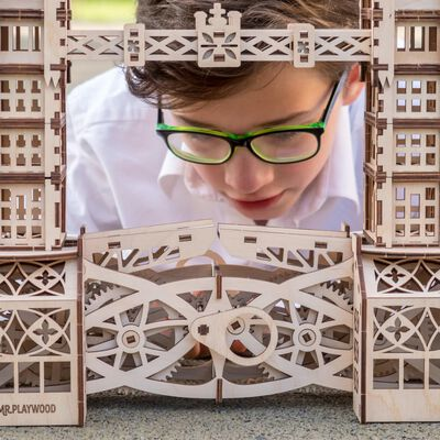 Mr. PlayWood Byggmodell i trä Tower Bridge 312 delar