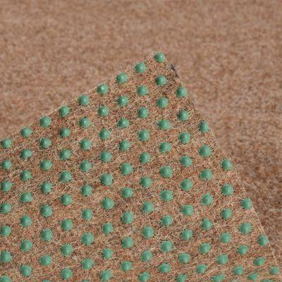 vidaXL Konstgräs med halkskydd 10x1,33 m beige
