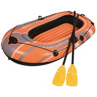 Bestway Uppblåsbart båtset Kondor 1000 Set 155x93 cm 61078
