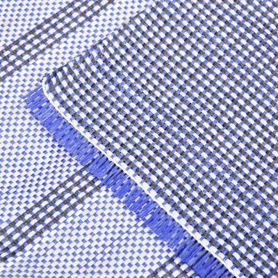 vidaXL Tältmatta 650x300 cm blå
