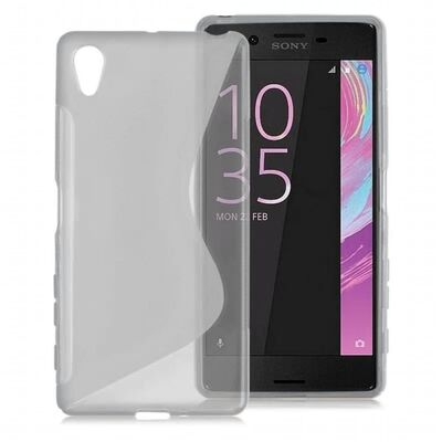 S Line silikon skal Sony Xperia X (F5121) Grå