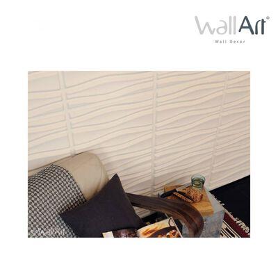 WallArt Väggpanel 3D Flows 12 st GA-WA14