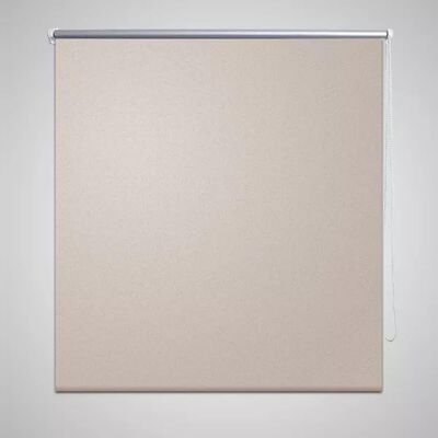 Rullgardin mörkläggande 40x100 cm beige