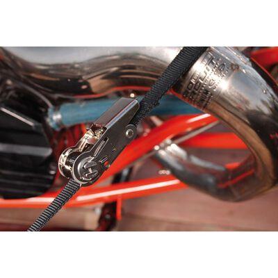Master Lock Ändlöst spännband med spärr 5 m x 25 mm svart 3108EURDAT