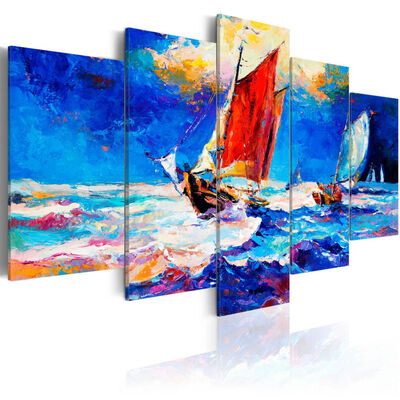 Tavla - Catch The Wind  - 100x50 Cm