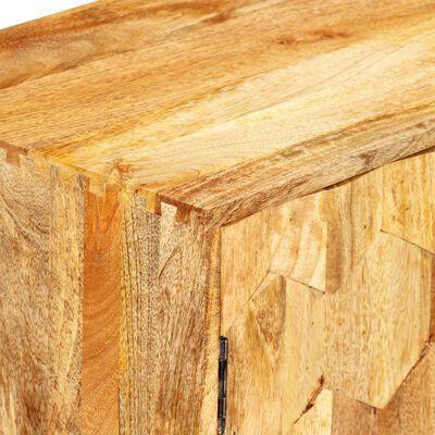 vidaXL Skänk massivt mangoträ 118x35x75 cm