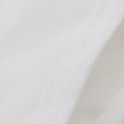 vidaXL Båtkapell 3 bågar vit 183x180x137 cm