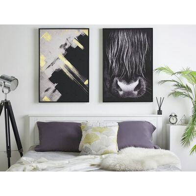 Tavla 63 x 93 cm svart GALEATA
