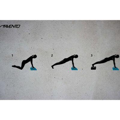 Avento Hopfällbar träningsbräda för armhävningar
