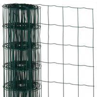 Nature Ståltrådsnät fyrkantig 0,6x10 m plastbelagd stål grön