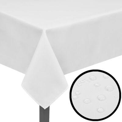 5 Bordsdukar Vit 250 x 130 cm