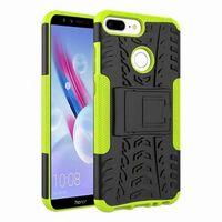 Stöttåligt skal med ställ Huawei Honor 9 Lite (LLD-TL10) Grön
