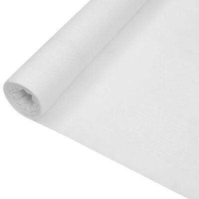 vidaXL Insynsskyddsnät vit 1,2x10 m HDPE 75 g/m²