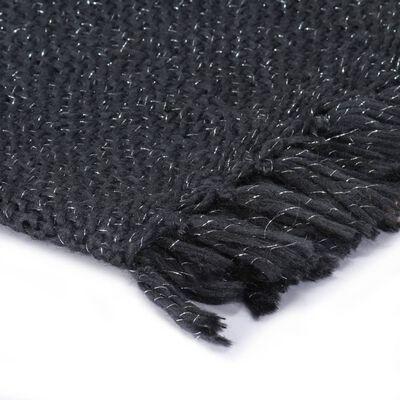 vidaXL Filt lurex 220x250 cm antracit