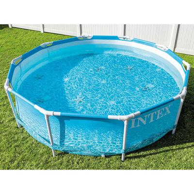 Intex Pool Beachside Metal Frame 305x76 cm
