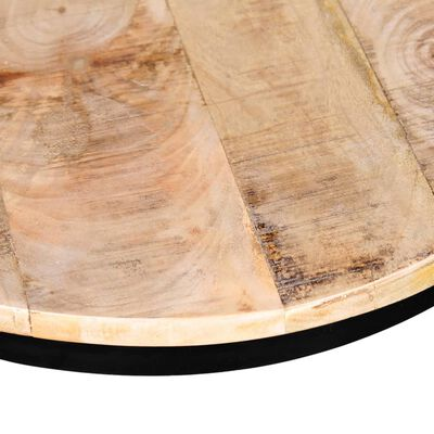 vidaXL Soffbord 2 st mangoträ rund 40 cm/50 cm