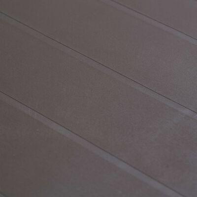 vidaXL Trädgårdsbord 79x79x72 cm konstrotting brun