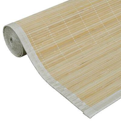 vidaXL Bambumatta 160x230 cm naturlig
