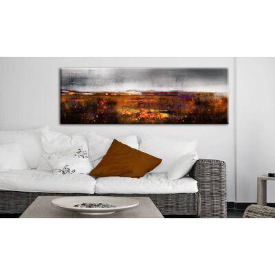 Tavla - Autumn Field - 150x50 Cm
