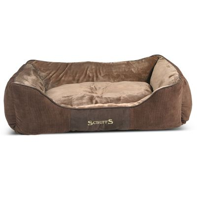 Scruffs & Tramps Djurbädd Chester strl. XL 90x70 cm brun 1169