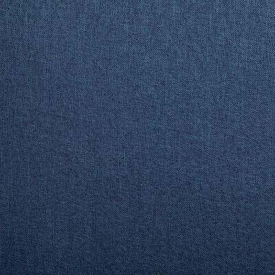 vidaXL Matstolar 2 st blå tyg