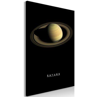 Tavla - Saturn (1 Part) Vertical - 60x90 Cm