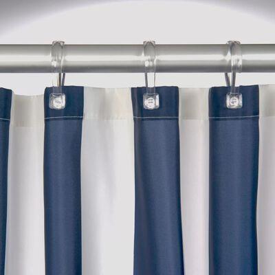 Sealskin Duschdraperi Linje 180 cm blå 233011324, Blue