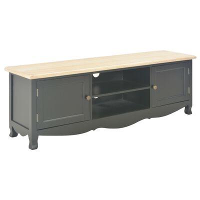 vidaXL TV-bänk svart 120x30x40 cm trä