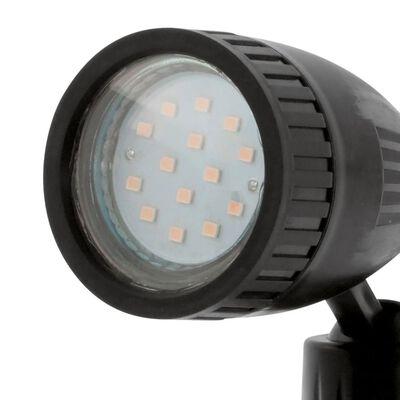 EGLO LED-strålkastare för utomhusbruk Nema 1 3 W svart 93384