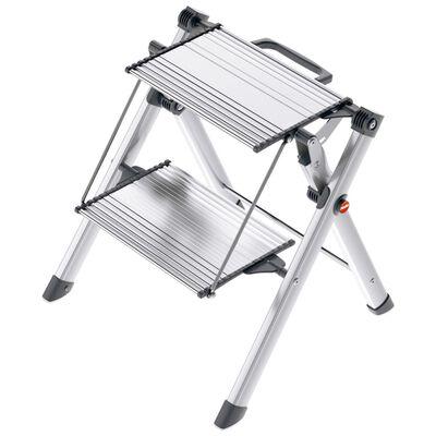 Hailo Trappstege med 2 steg Mini Comfort 45 cm aluminium 4310-100