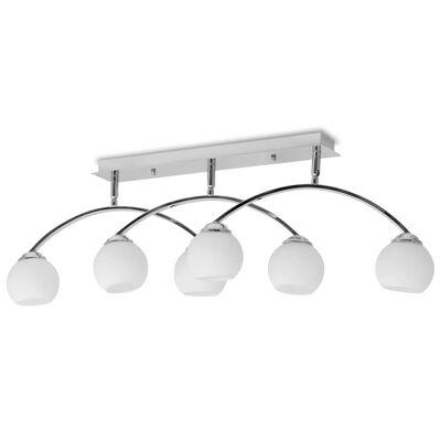 vidaXL Taklampa för 6 G9-glödlampor 240 W