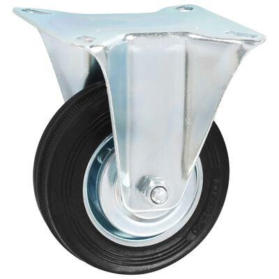 vidaXL Fasta hjul 16 st 100 mm