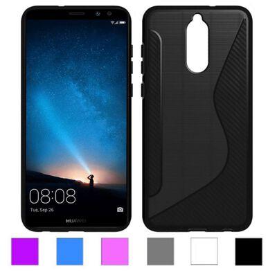S Line silikon skal Huawei Mate 10 Lite (RNE-L21) Blå