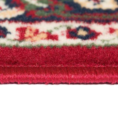 vidaXL Orientalisk matta 120x170 cm röd/beige,