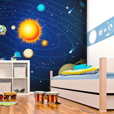 Fototapet - Solsystemet - 300x231 Cm