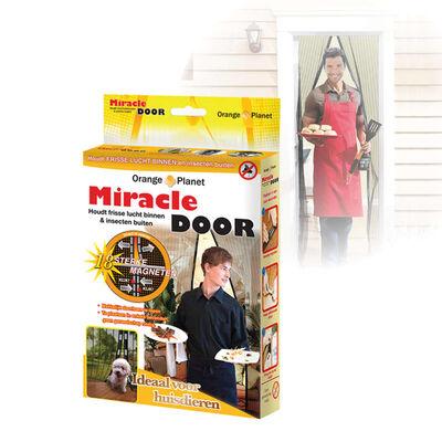 Orange Donkey Magnetiskt insektsskydd för dörr Miracle svart BUF001