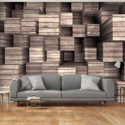 Fototapet - Wooden Finesse - 100x70 Cm