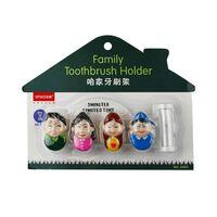 Tandborsthållare Familj med timglas