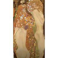 Water Serpents II,Gustav Klimt,80x44.5cm